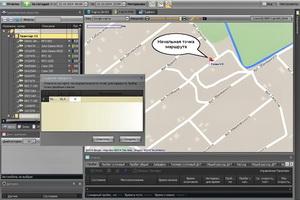 Прокладка маршрута в системе GPS мониторинга