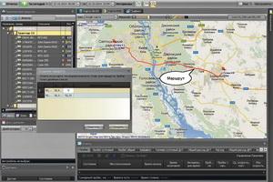 GPS маршрут