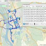 Работа GPS маячка в такси