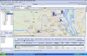 Работа GPS маячка в программном обеспечении
