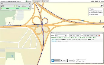 GPS трекер в WEB сервисе